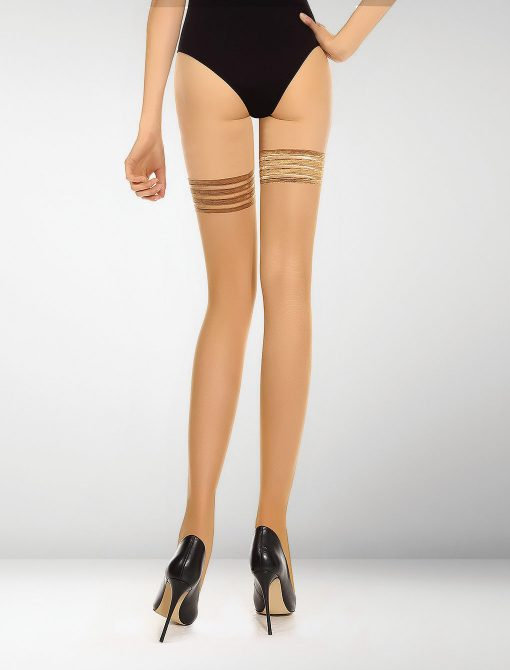 Alatri 20 Denier Hold Ups - Natural