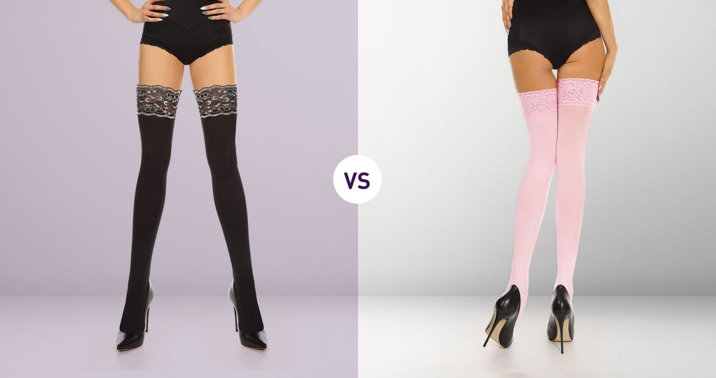 Semi Opaque vs Opaque Hosiery